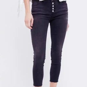 Free People Black Jeans